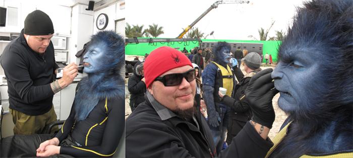 The gallery for --> X Men First Class Beast Makeup