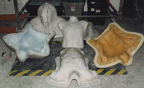 molds Latex body