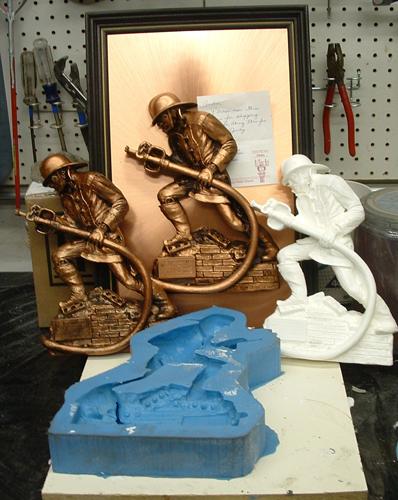 Mold Making at AFX Studios